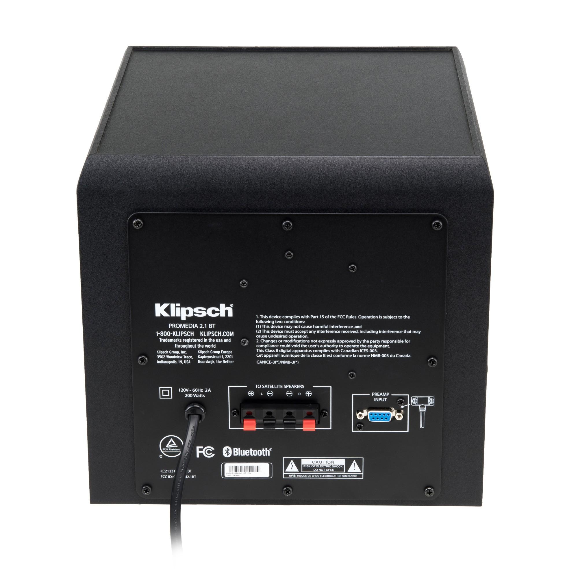 Pro Media 2 1 Bluetooth 6