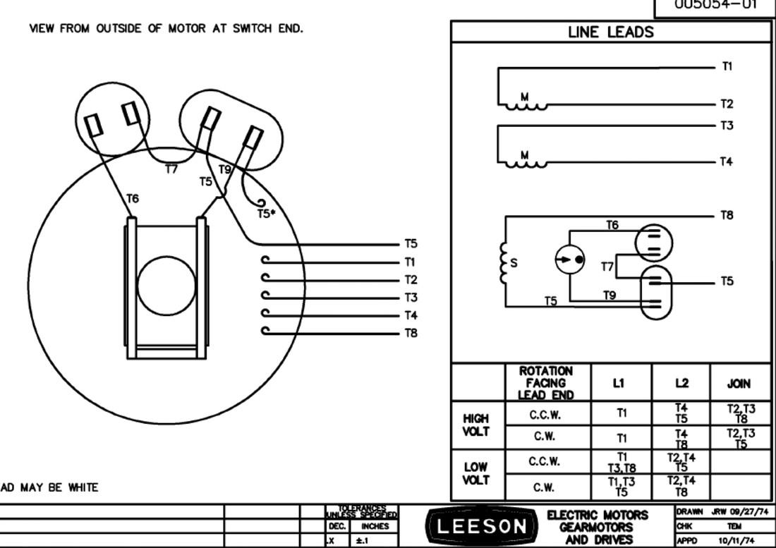 Diagram size Leeson Electric Motor Wiring Diagram Diagrams Database electrical wiring drawing