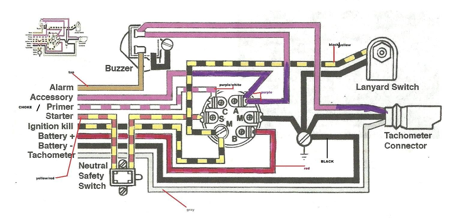 Stunning Mercury Outboard Ignition Switch Wiring Diagram Wirdig Beautiful
