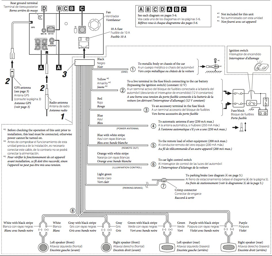 Metra 70-1761 Wiring Diagram Awesome | Wiring Diagram Image