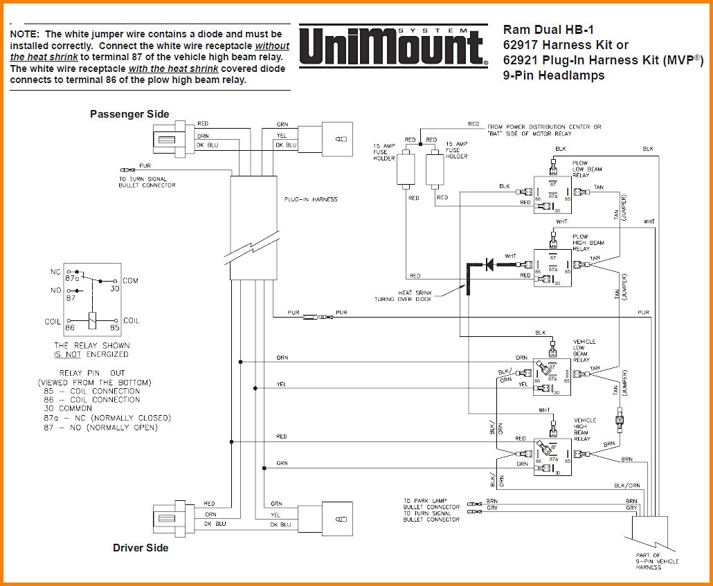6 Western Plow Wire Diagram Switch Wiring At