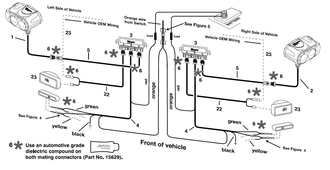 meyer plow wiring diagram mihella me Meyer E 47 Wiring Diagram Meyers Wiring Harness