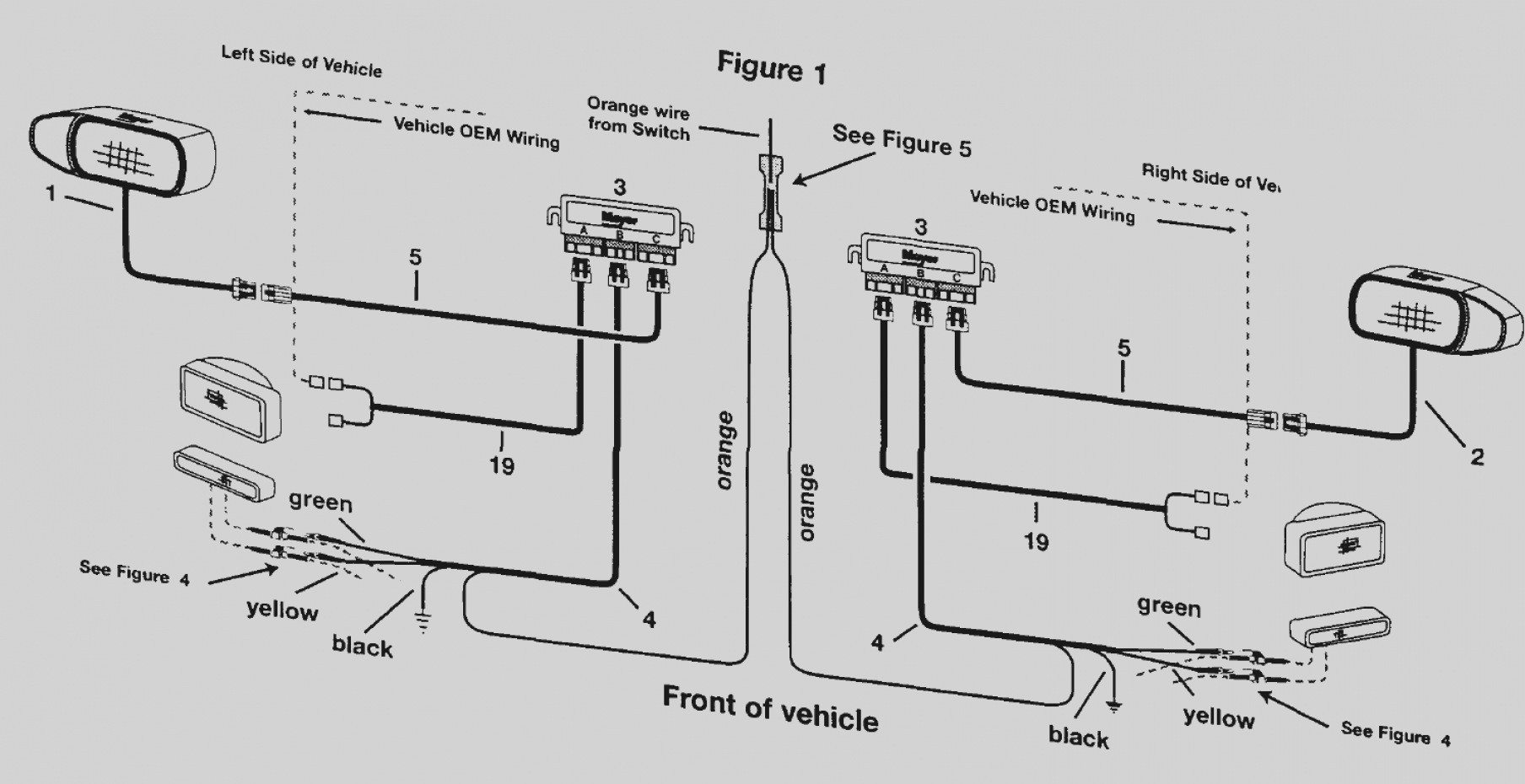 Meyers Plows Wiring Diagram Elegant Image Pir Sensor Collection Meyer Snow Plow In Webtor Me