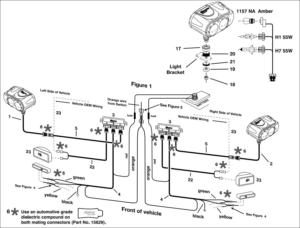 meyers plows wiring diagram elegant