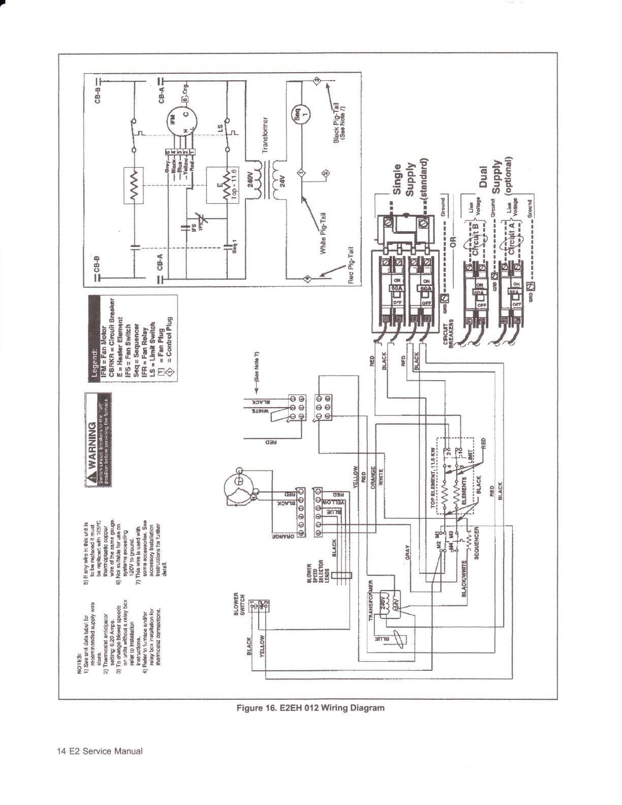 Electric Furnace Wiring Diagram Sequencer Elegant Magnificent Miller