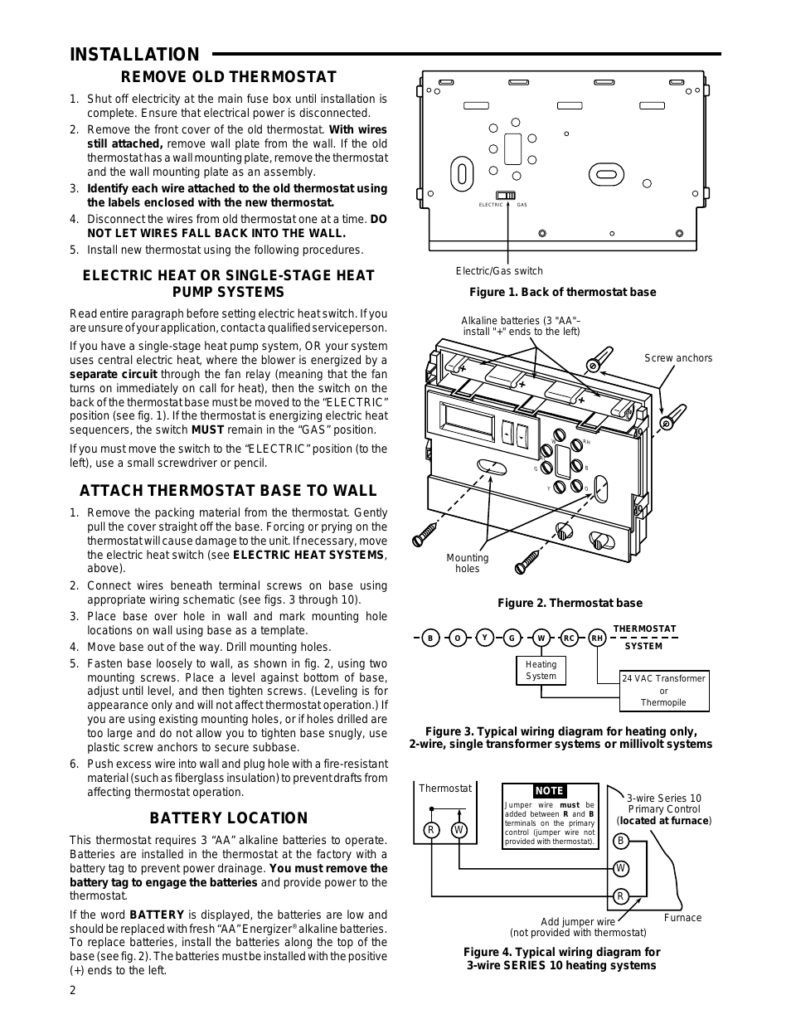 Millivolt Thermostat Power Wiring Diagram Page 2 Fireplace Gas Valve On Generator Installation For Harrisonphotos Com Source Fancy White Rodgers Collection