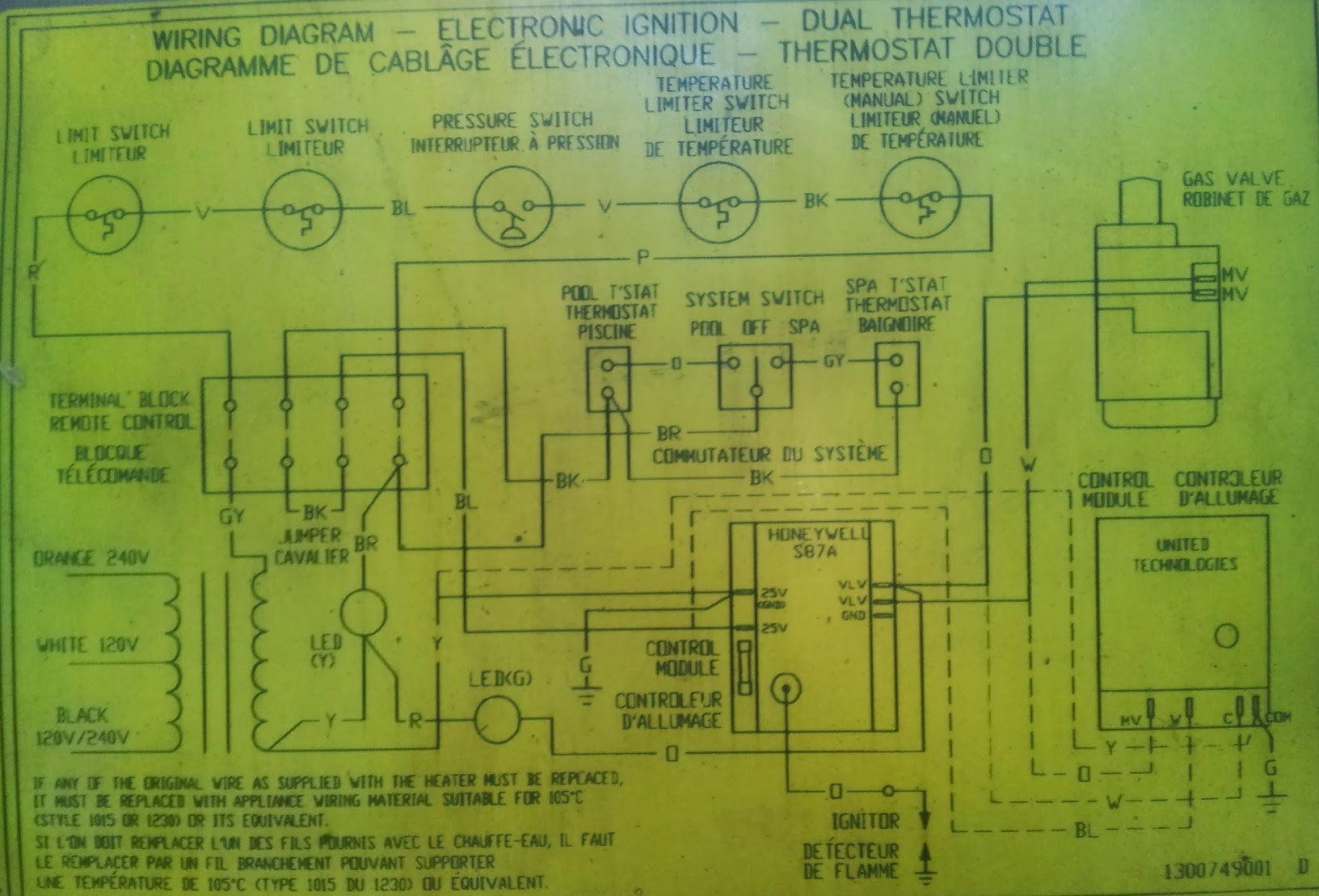 Wiring Diagram Gas Valve 36f22 Electrical Diagrams Natural Wall Heater With Thermostat The Best 2018 Millivolt