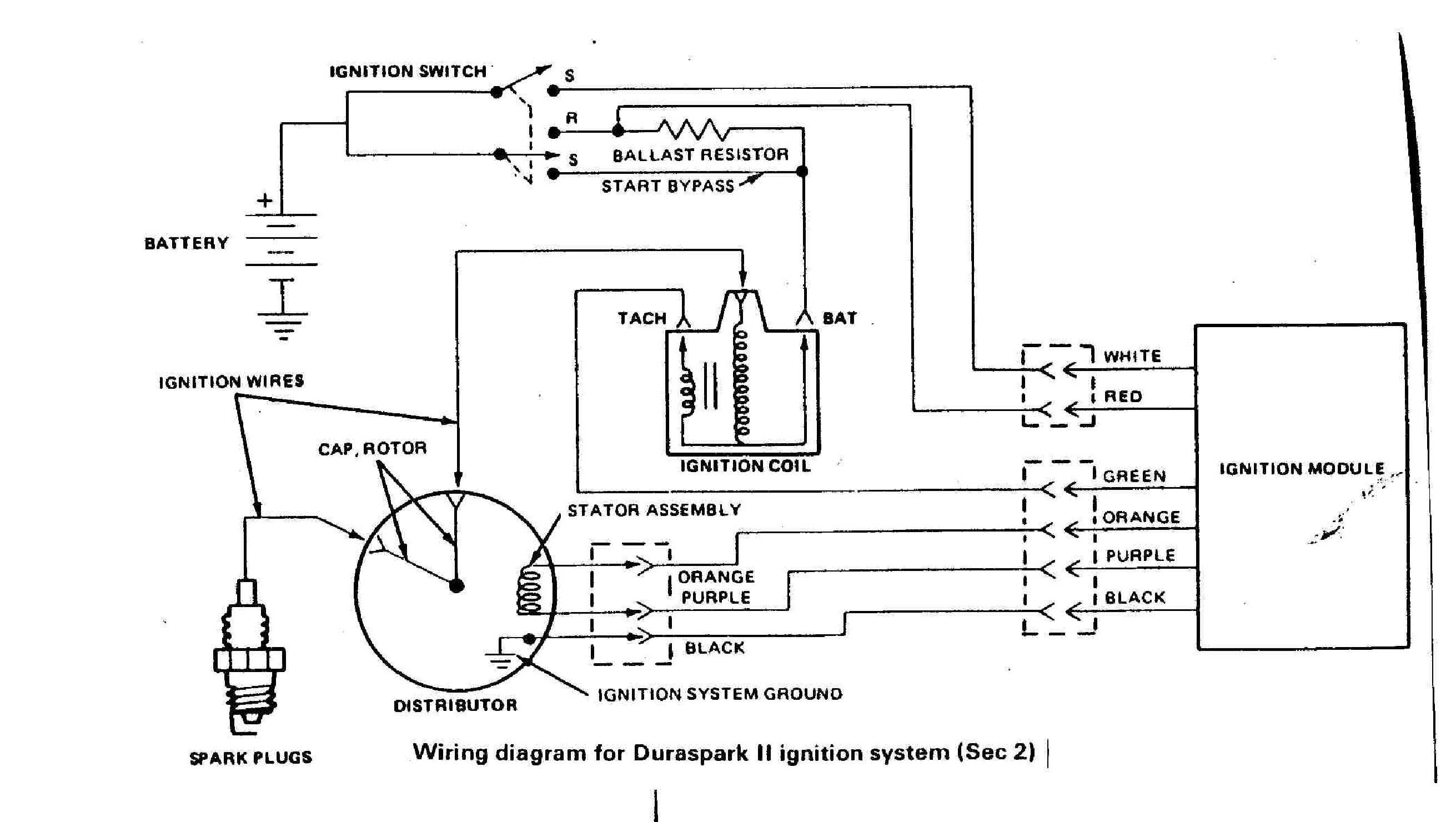 Great Wiring Diagram For Electronic Distributor 75 In Lawn Mower Pleasing