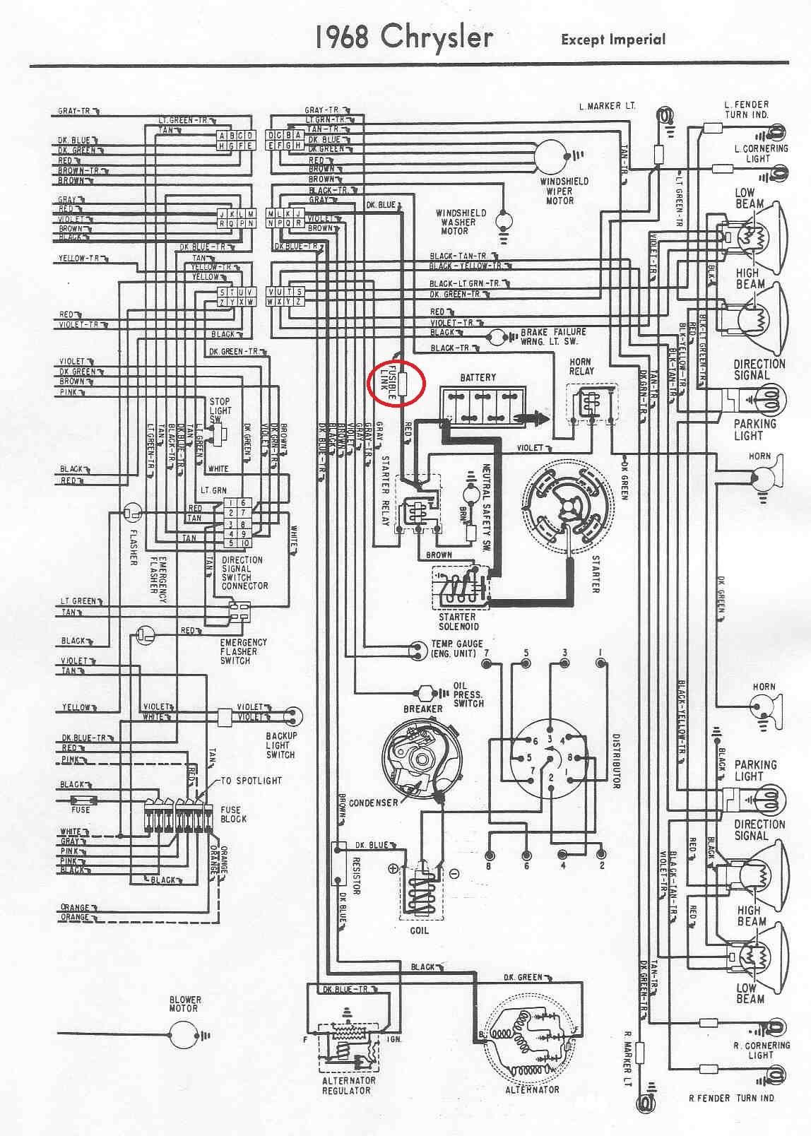 1950 Chrysler Imperial Wiring Schematics Electrical Diagrams Bass Tracker 1963 Diagram Enthusiast U2022