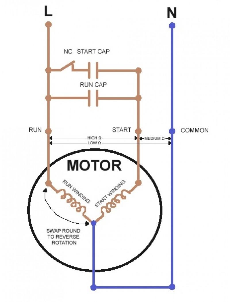 Motor capacitor wiring diagram elegant wiring diagram image capacitor start induction run motor wiring diagram at swarovskicordoba Choice Image