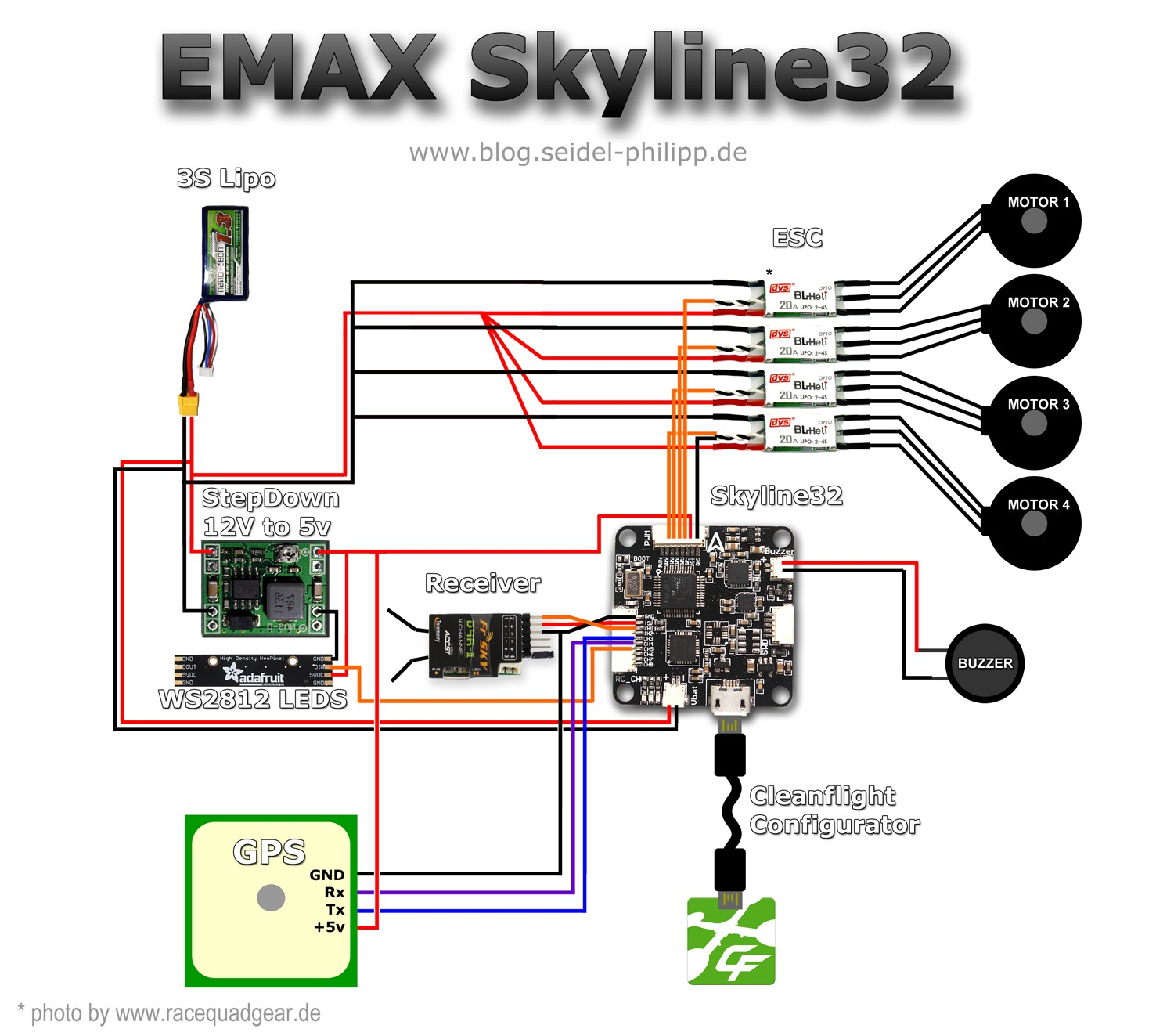 Quadcopter Esc Wiring Diagram on rc airplane, brainfpv pdb, emax blheli, colors motor, blheli 12a, rc brushless, shaluoman rc, brushles dual,