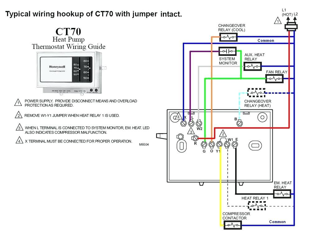 8 Wire Thermostat Wiring Diagram In