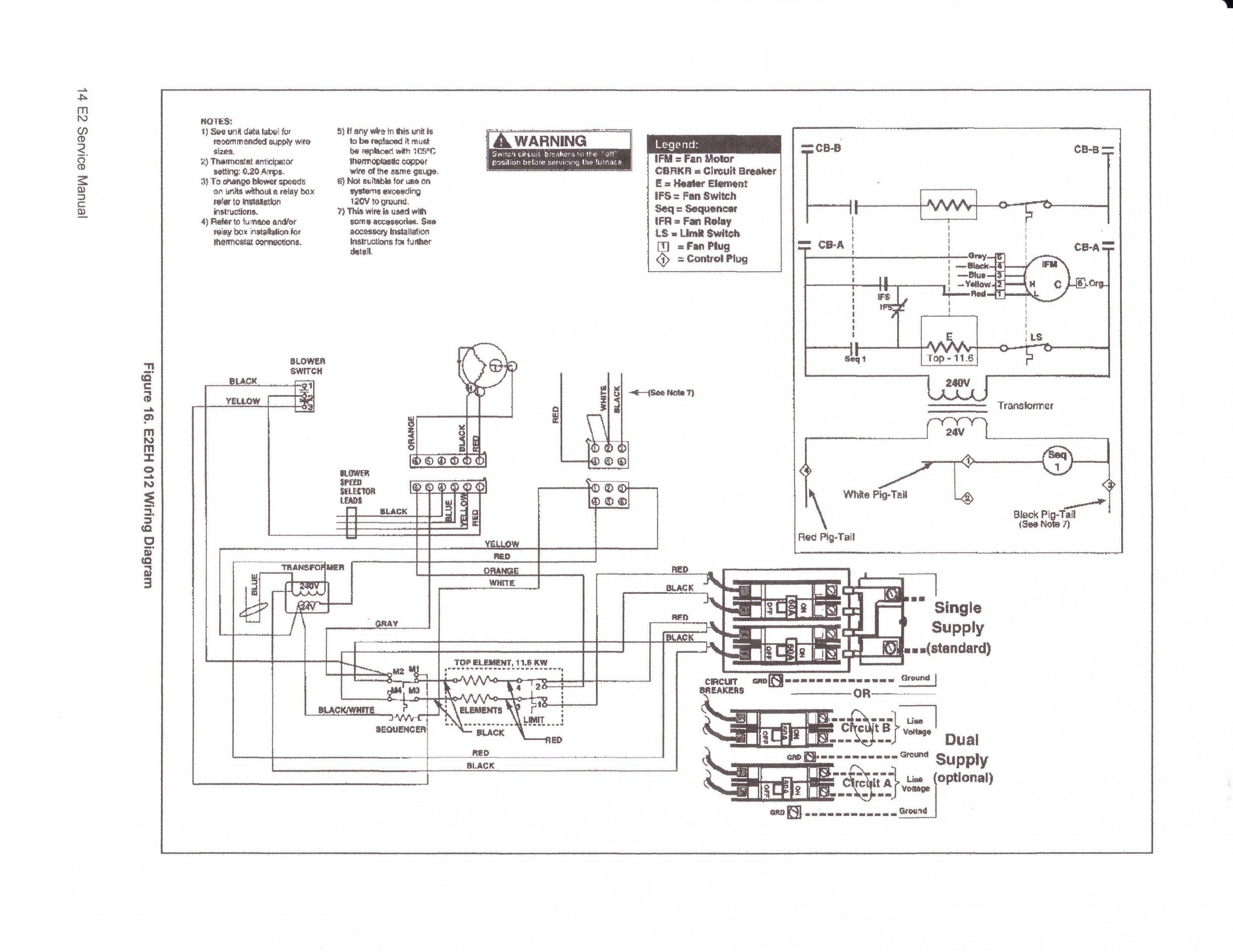 Coleman Evcon Ind Furnace Parts Inside Electric Wiring Diagram