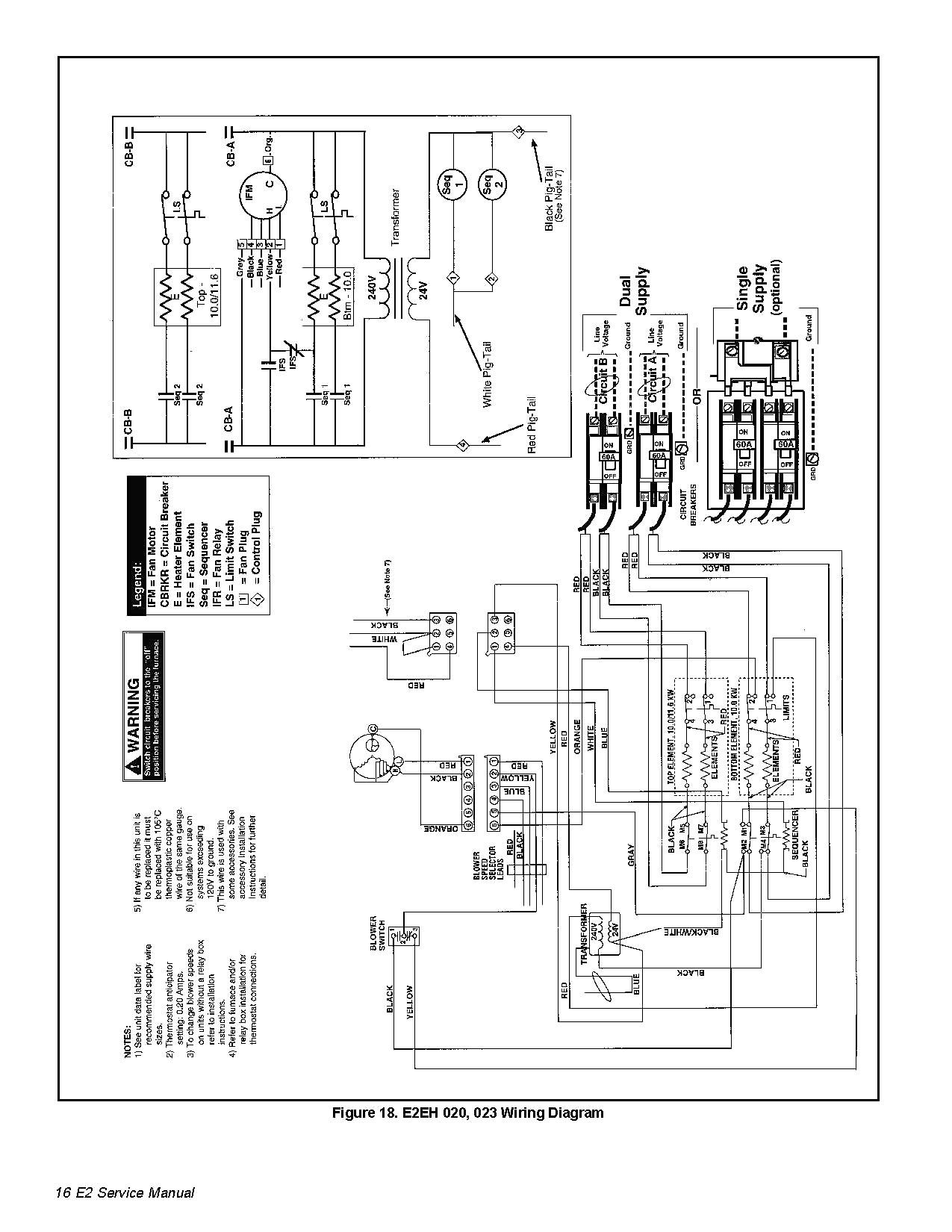 Intertherm Electric Furnace Wiring Diagram For Nordyne Heat Pump