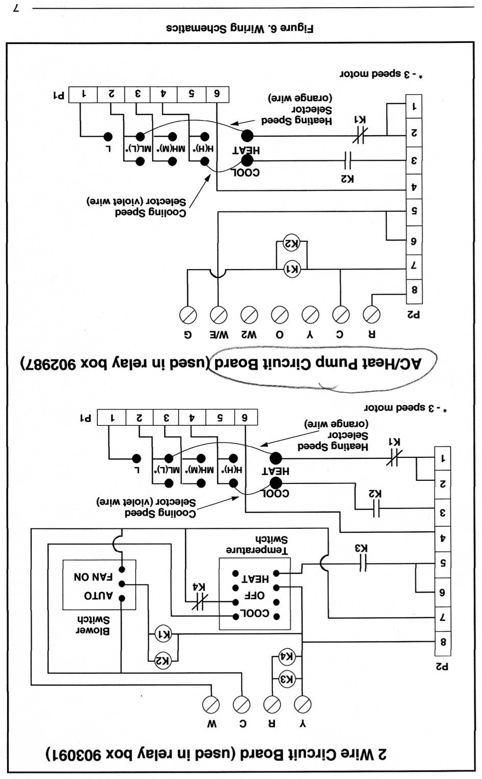 Awesome Nordyne Thermostat Wiring Diagram Contemporary Fancy Furnace
