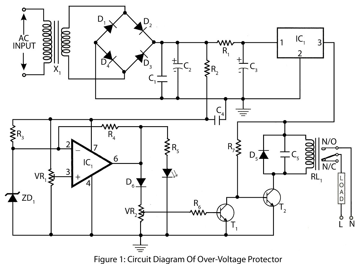 Optocoupler Relay Circuit Best Of Wiring Diagram Image Electronic Project Over Voltage Protector Electronics Toyota Charge Full