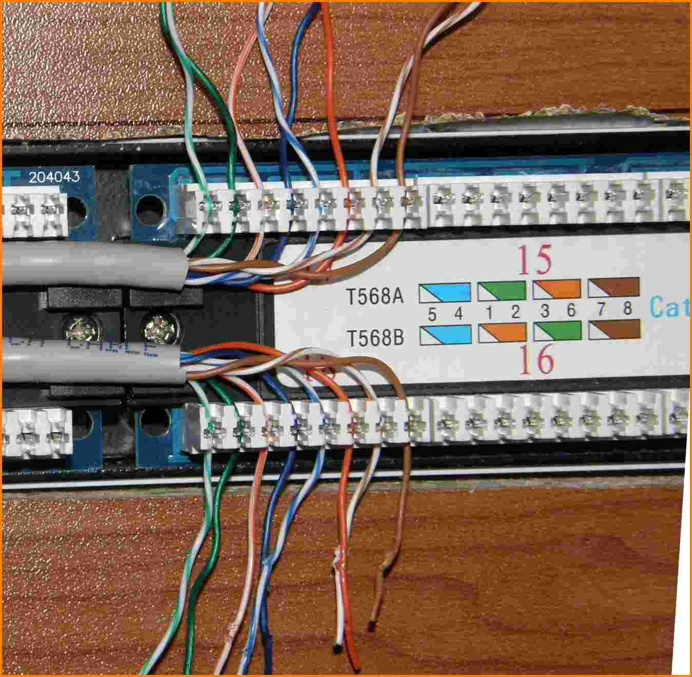 Patch Panel Wiring Diagram 10 Cat6 Patch Panel Wiring