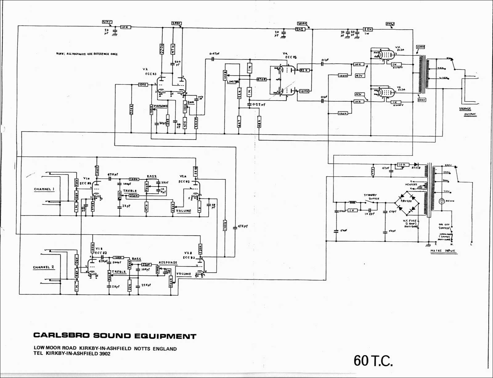 Peavey T 60 Wiring Diagram Beautiful Schematics Peavey T 60 Wiring Diagram