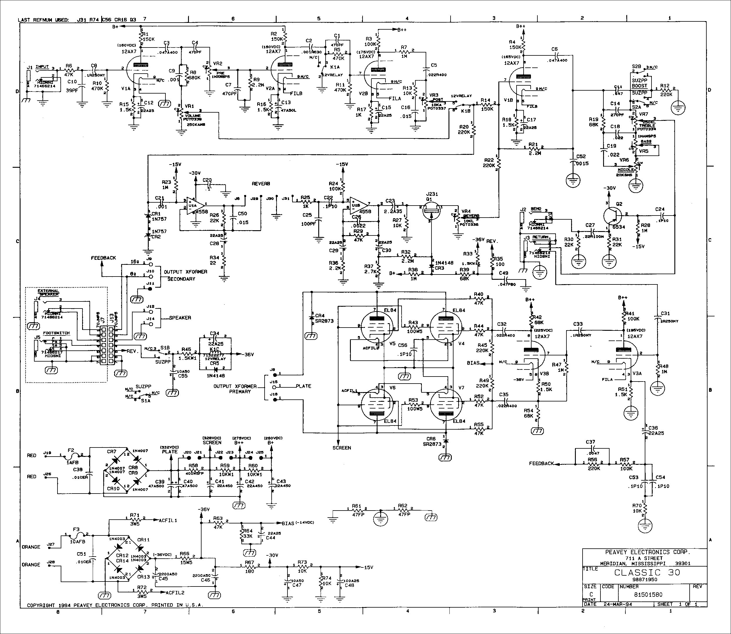 peavey t 40 wiring diagram wiring library