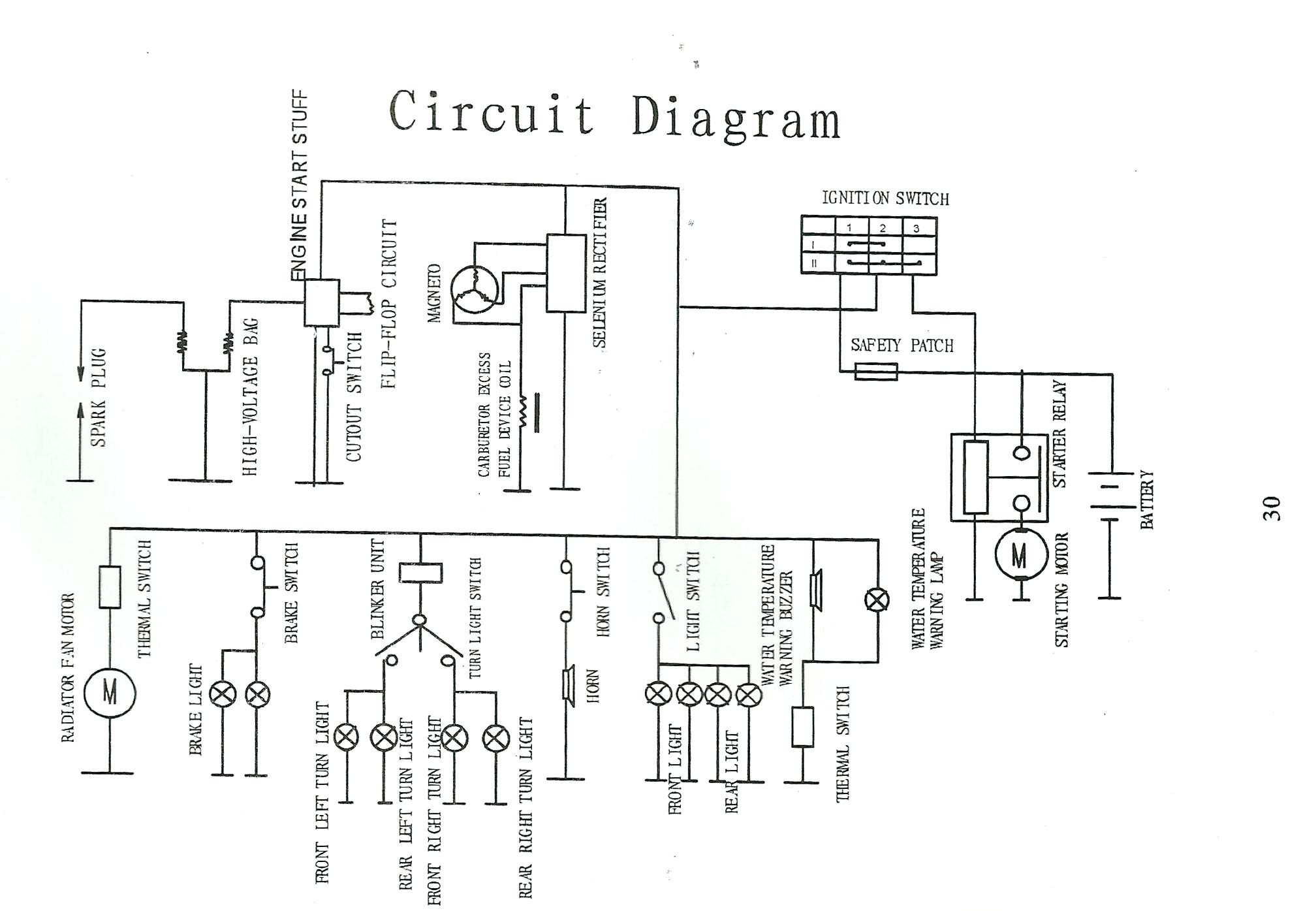107cc Engine Wiring Diagram Trusted Diagrams Easy U2022 Rh Art Isere Com 125cc Dirt Bike