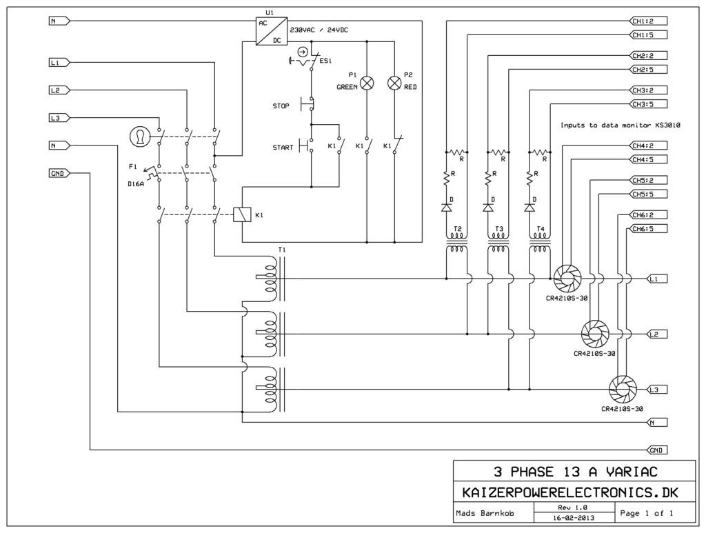Powerstat Variable Transformer Wiring Diagram - Wiring Data