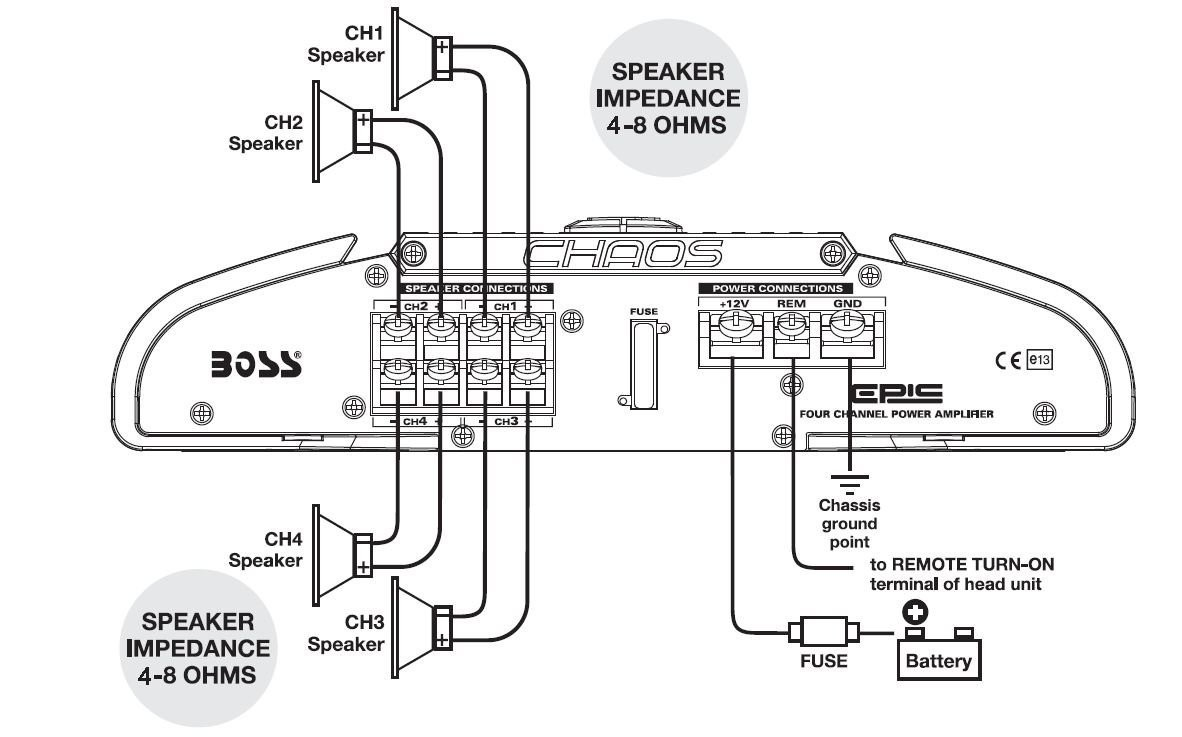 DIAGRAM] 4 Channel Speaker Wiring Diagram Epic 400 Watts Full Range FULL  Version HD Quality Full Range -  PREGBOARDWIRING.CONCESSIONARIABELOGISENIGALLIA.ITconcessionariabelogisenigallia.it
