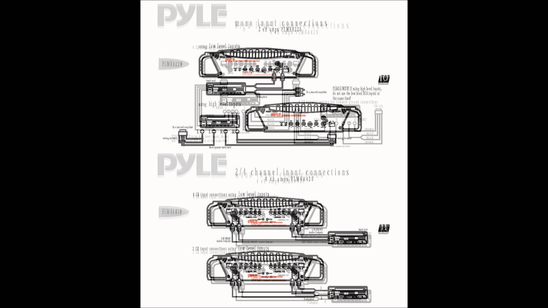 Pyle Hydra Amp Wiring Diagram Best Of Manual Guide