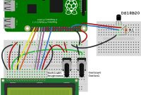 Raspberry Pi Circuit Diagram Luxury Raspberry Pi Ds18b20 Temperature Sensor Tutorial Circuit Basics