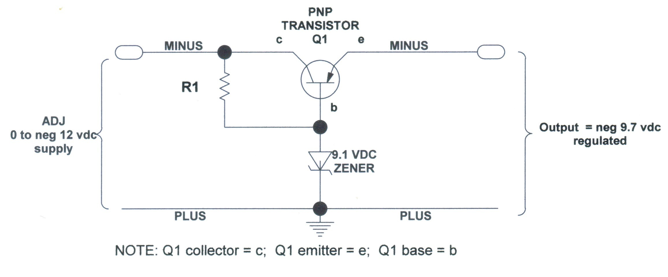 All About Regulated Voltage Dual Power Supply Circuit Vcc Diagram Of Hd 2313960