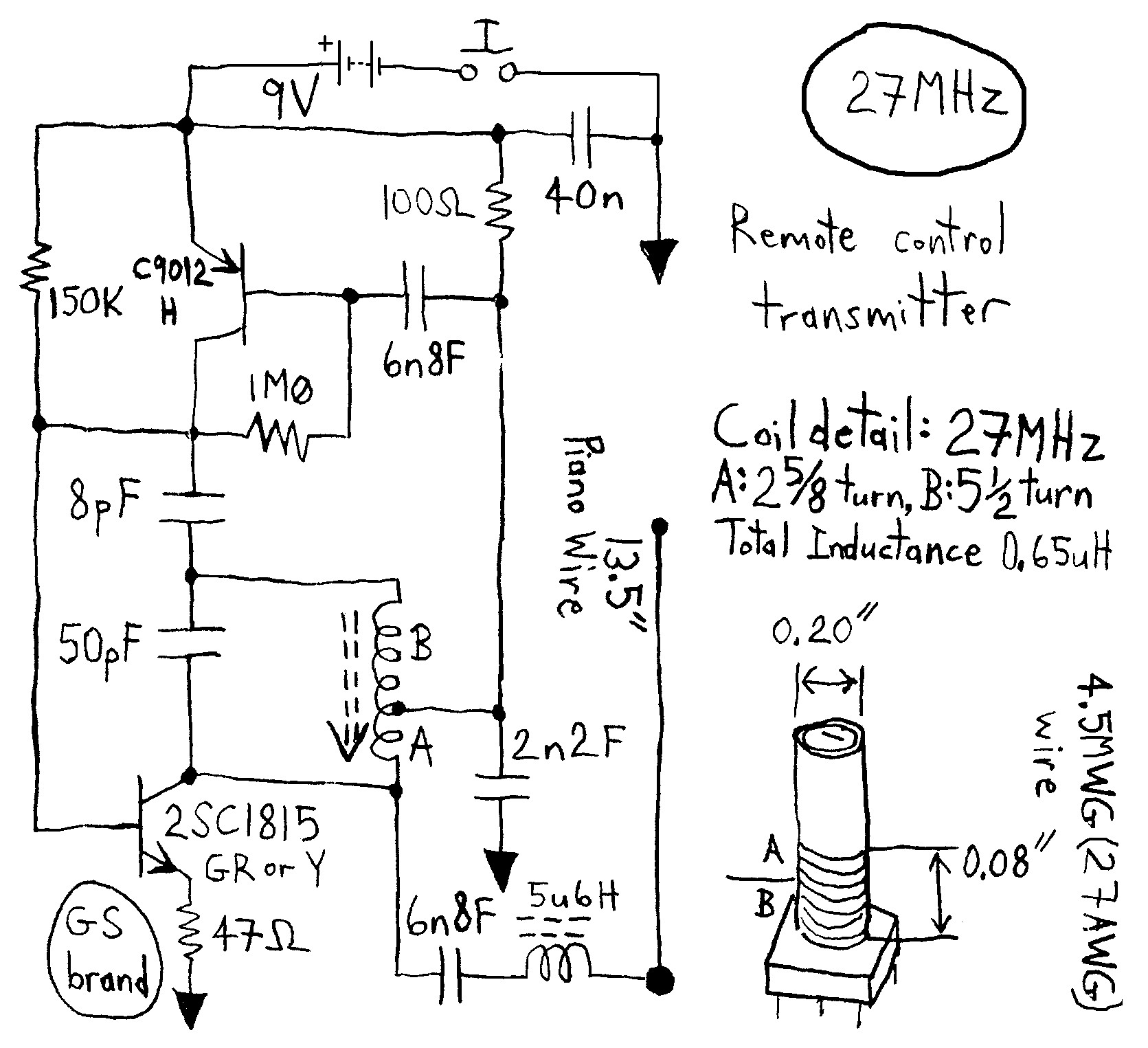 Remote Control Cars Circuit Diagrams Awesome Wiring Diagram Image On Off Switch Schematic Circuits Rc Simple L Next Gr Fet Transistor Amplifier Biased