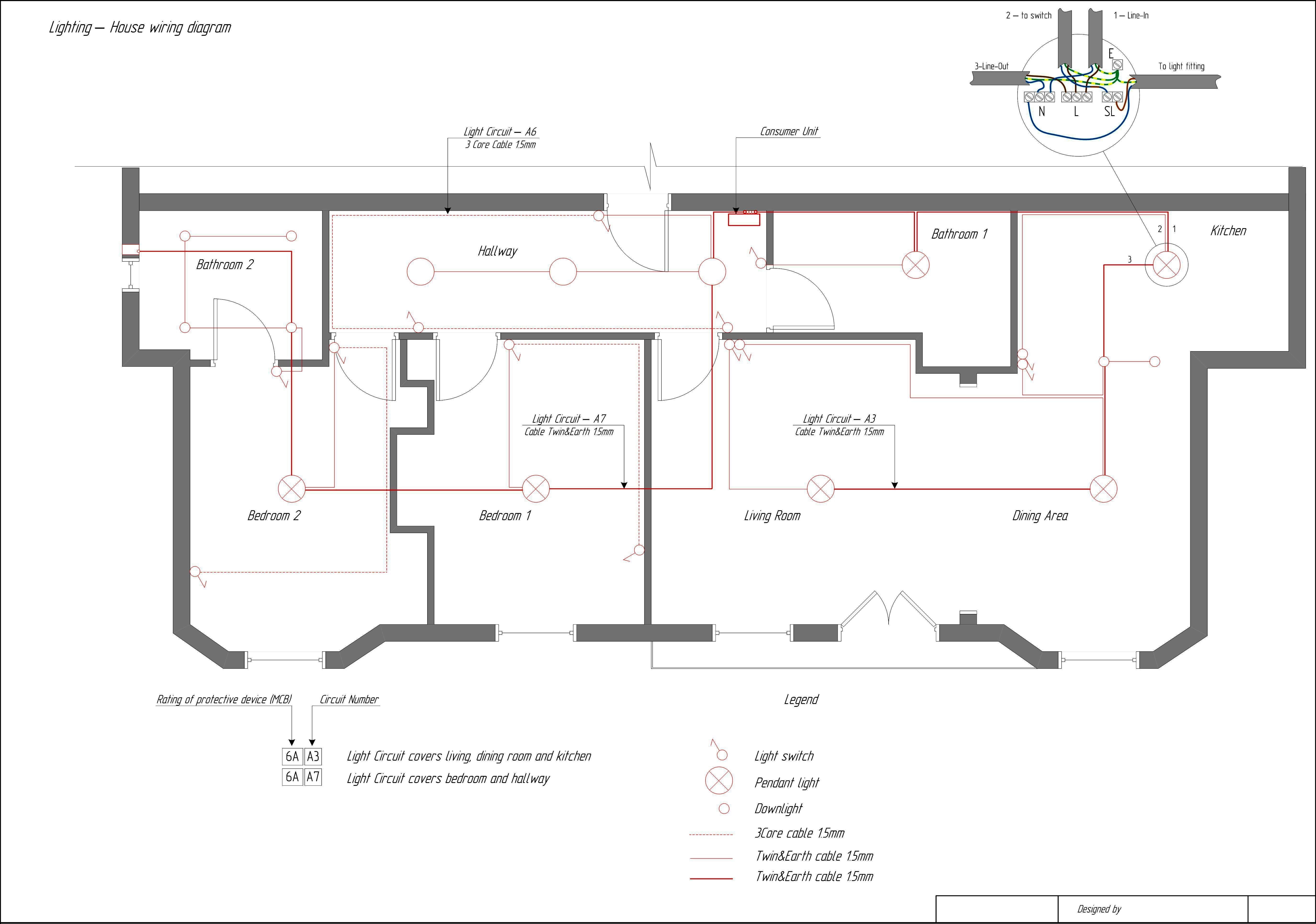 Typical House Wiring Diagrams - Product Wiring Diagrams •