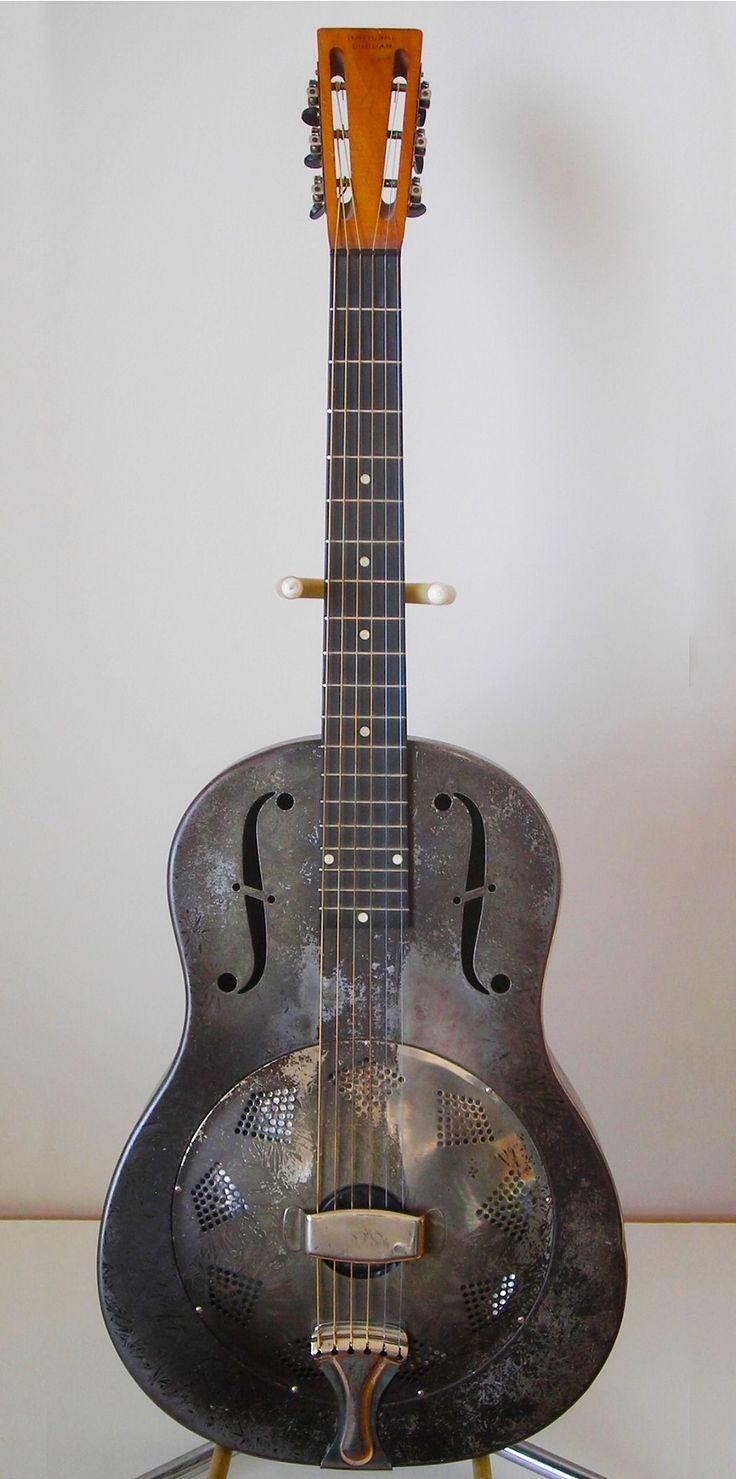 Vintage National Duolian Resophonic Guitar