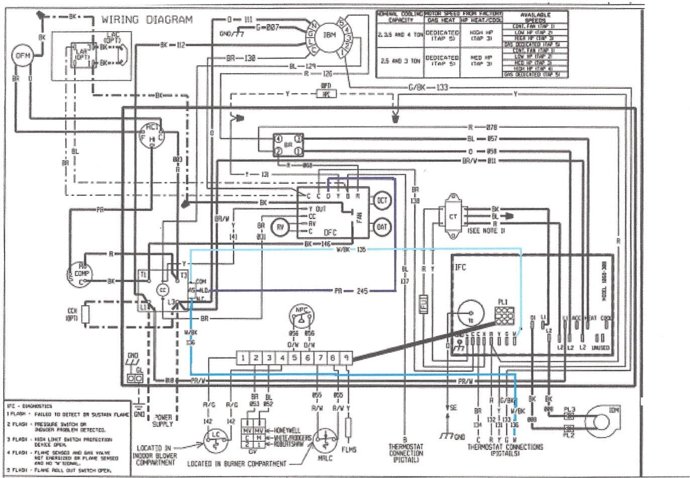Wiring Diagram Rheem Condenser Fair Heat Pump Diagrams