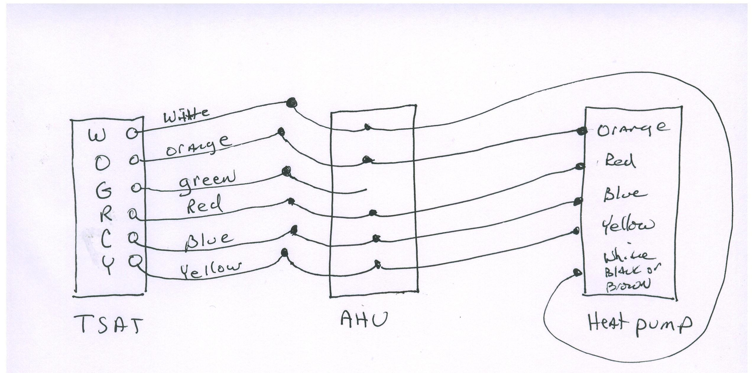 Amazing Miller Heat Pump Wiring Diagram Contemporary Electrical Throughout A