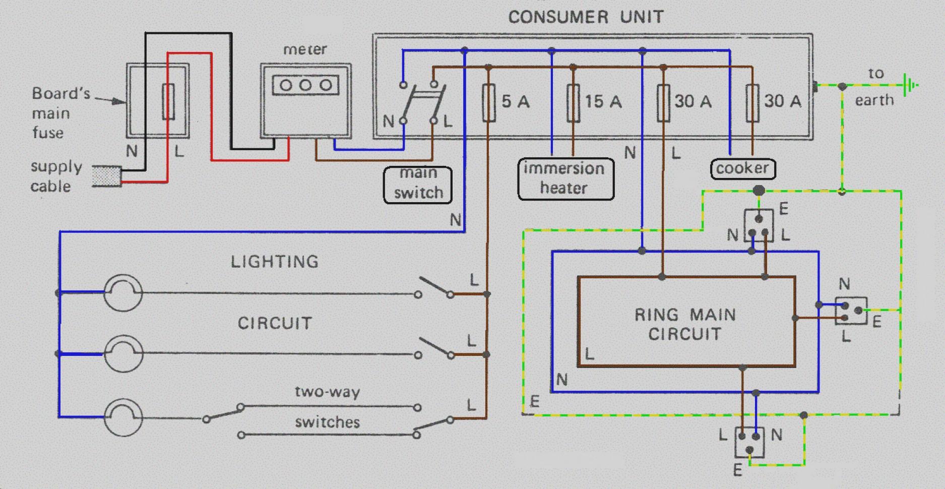 Latest Simple Household Wiring Diagrams House Diagram Pdf Blurts Me