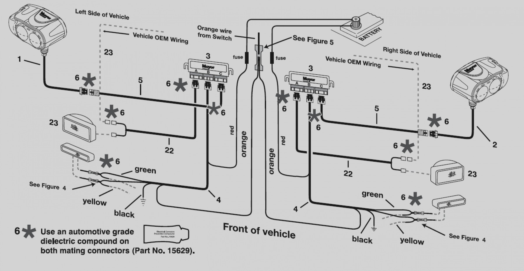 Awesome Meyer Snow Plow Wiring Diagram For Meyers Plows