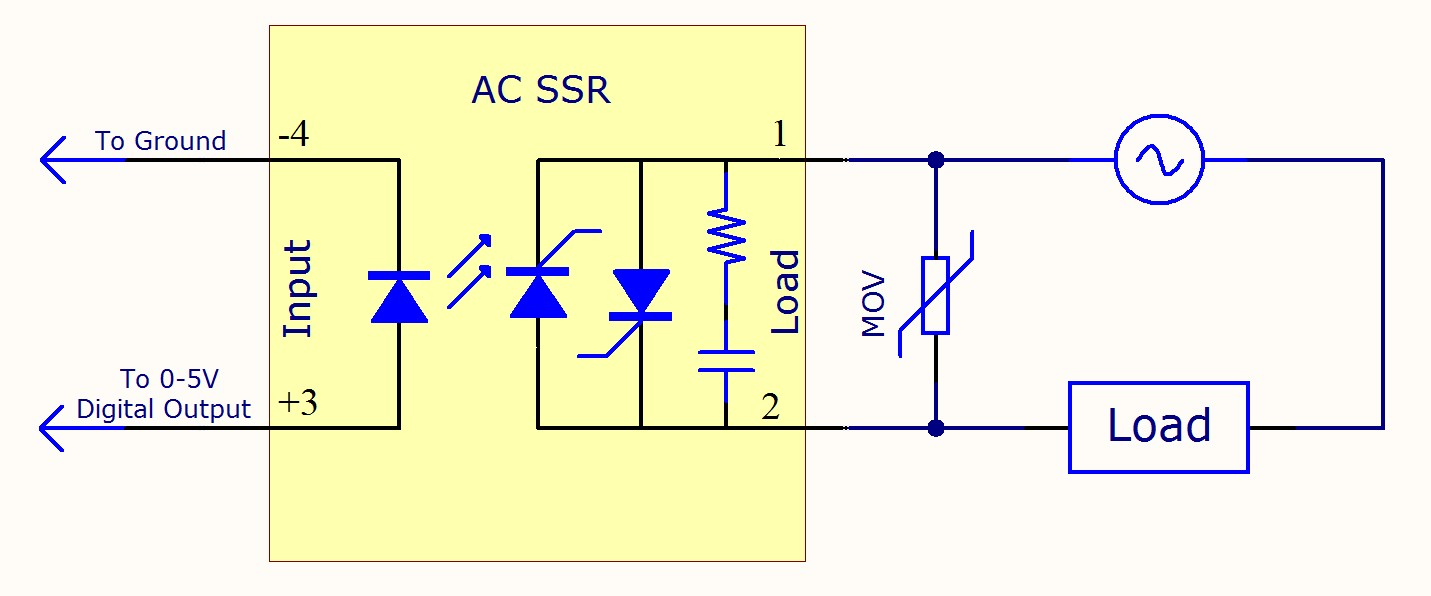 Ss Relay Schematic Symbol Circuit Connection Diagram