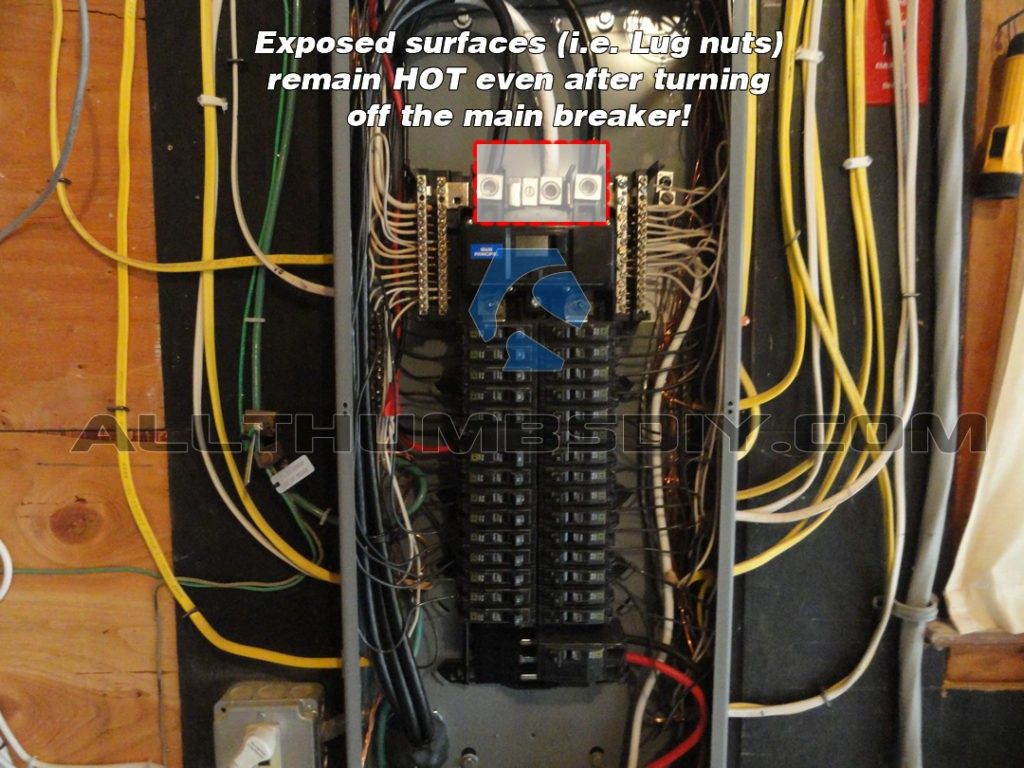 Generator To Breaker Box Wiring Diagram A House Main Panel Square D Image On