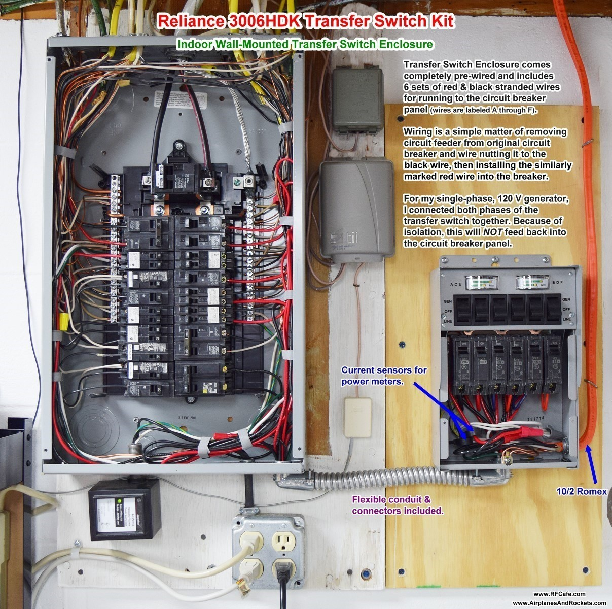 Wiring Breaker Box For Generator Solutions Square D Diagram Image