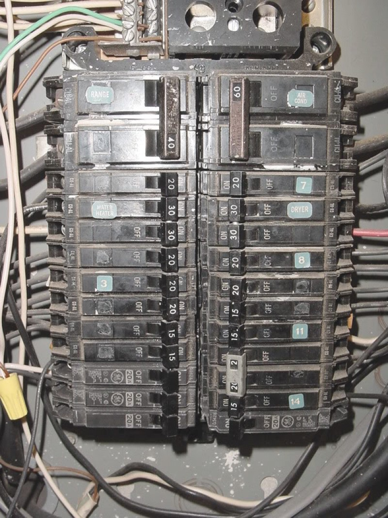 Wiring Diagram For Square D Load Center The