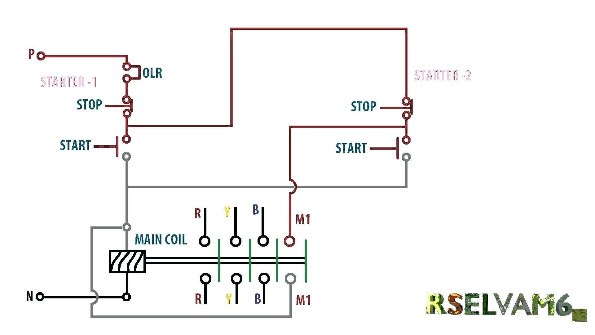 Wiring Start Stop Switches Diagram - WIRE Data •