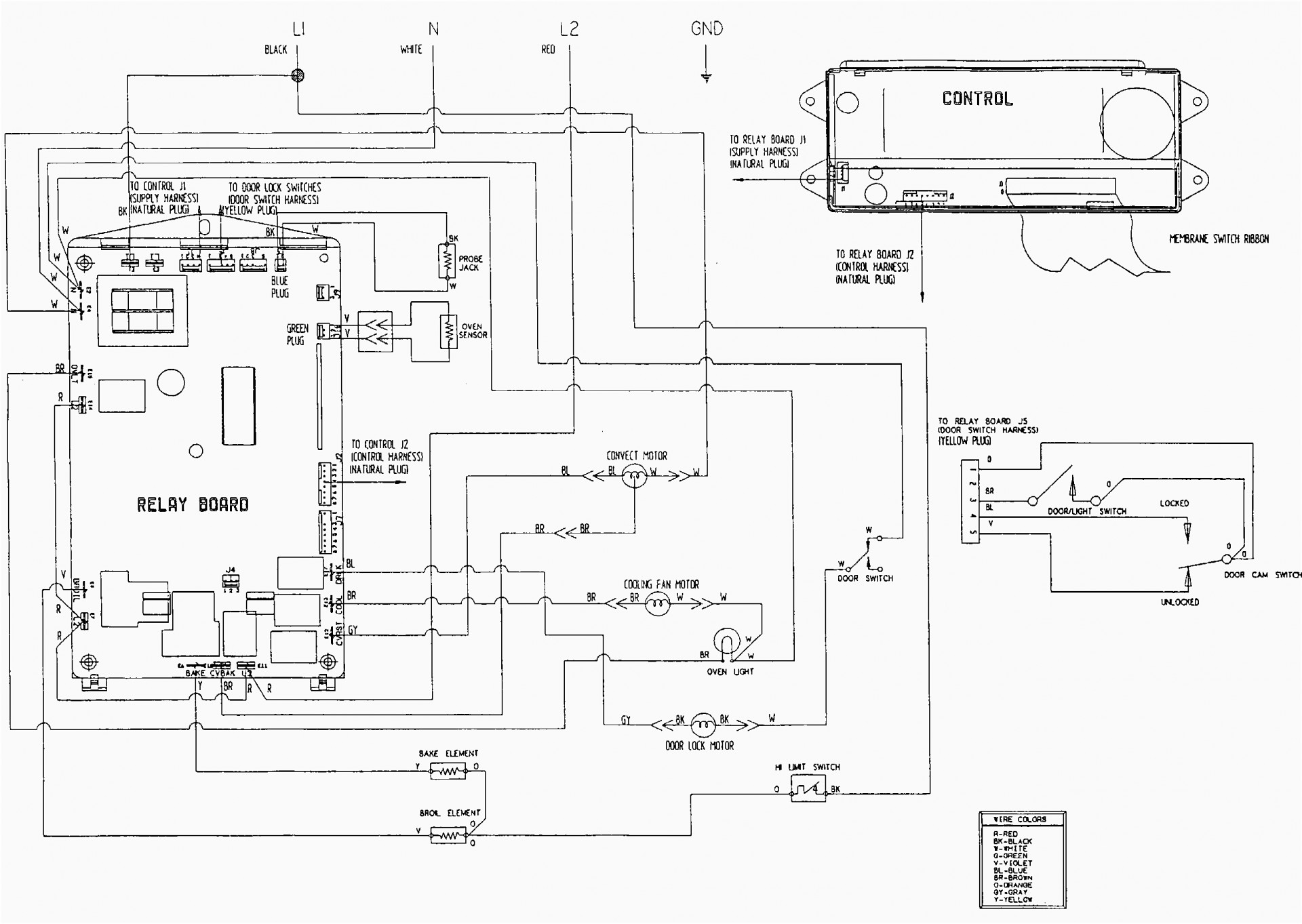 Cooker Wiring Diagram Dolgular For Alluring