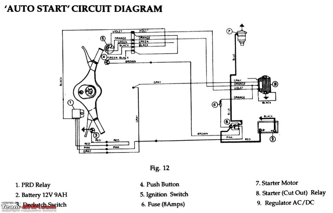DIY tacho for a car using a bike s tacho manual diagram part