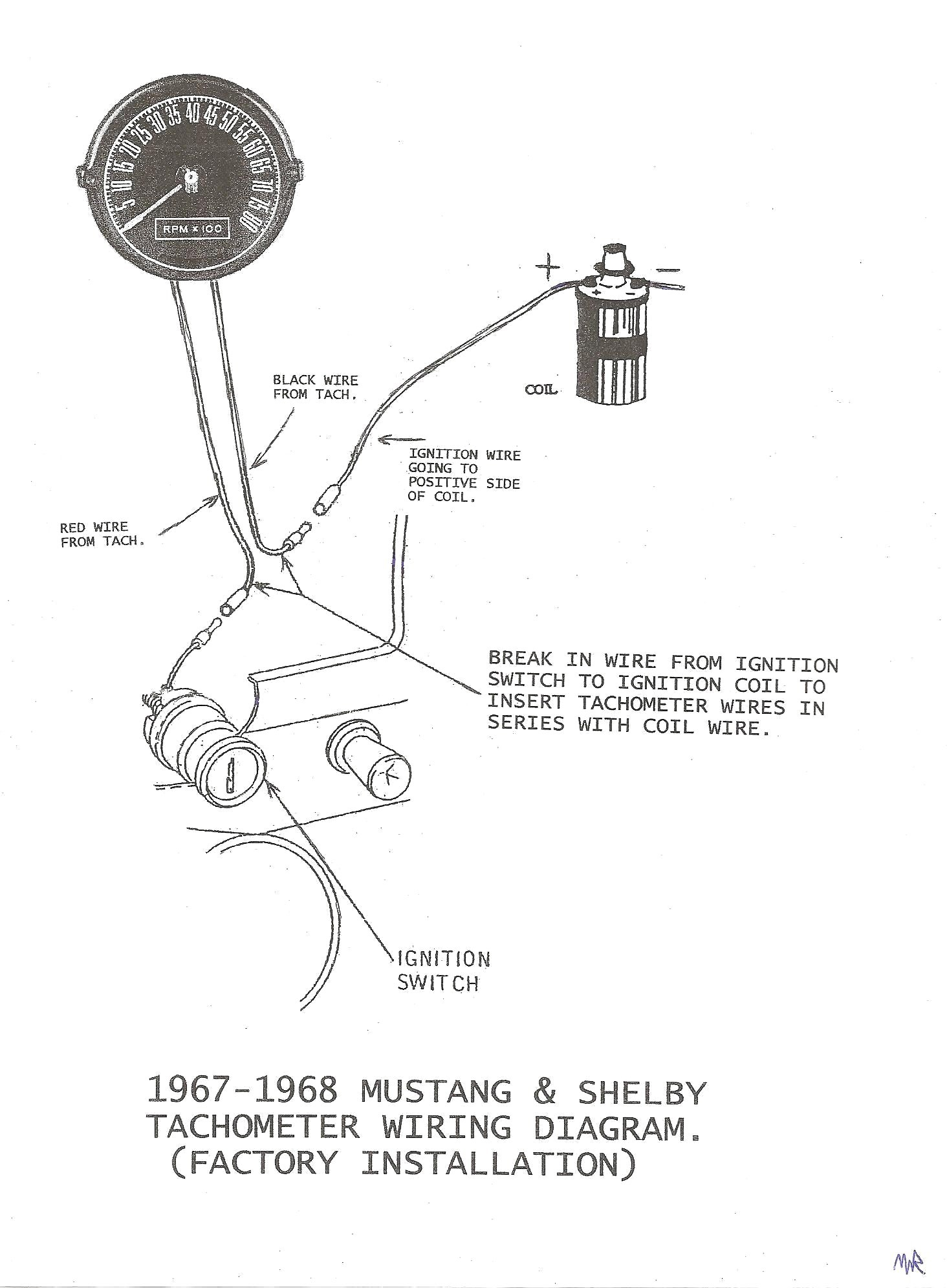 Autometer tach wiring diagram auto gauge tachometer for alluring