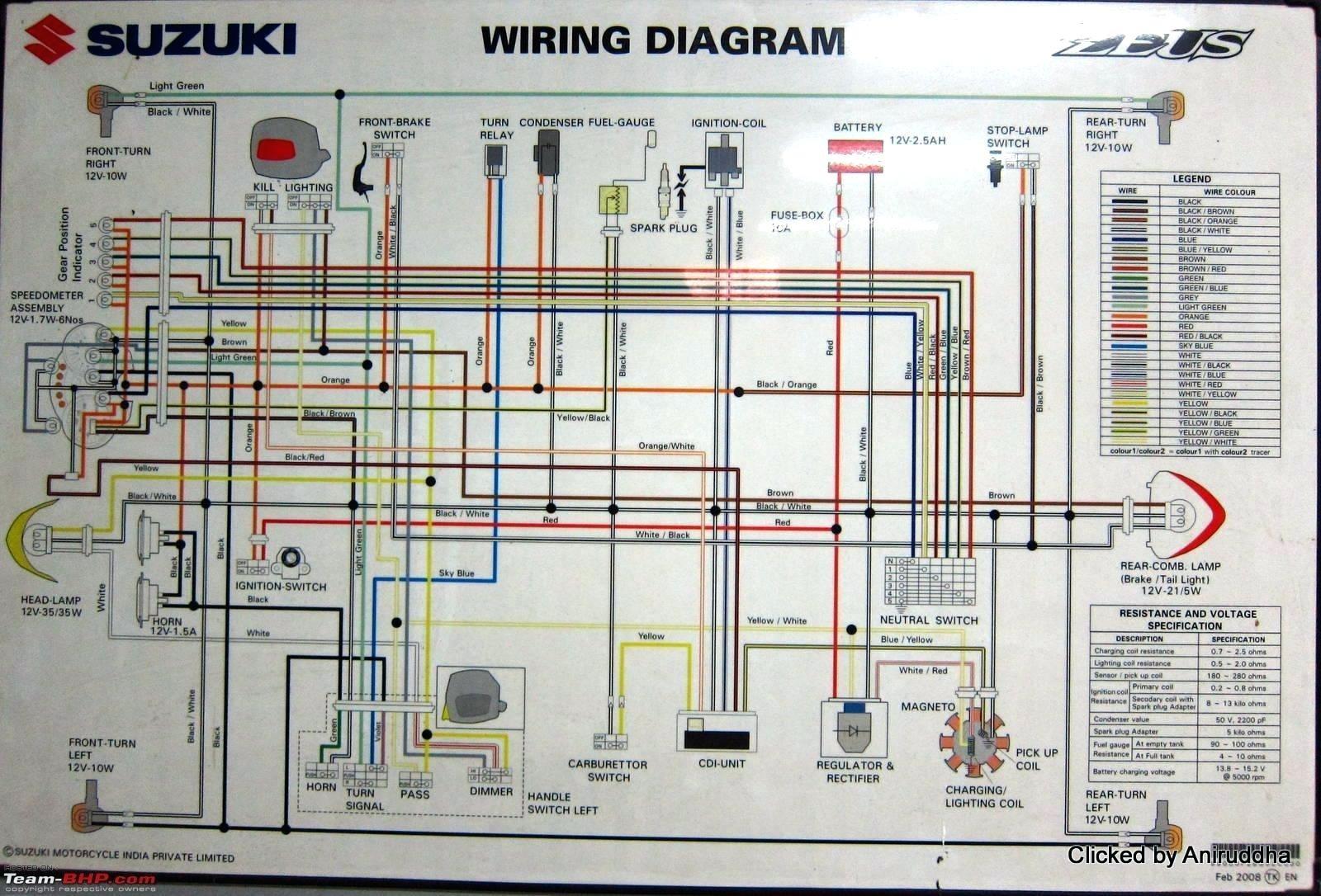 Full Size of Suzuki X4 125 Motorcycle Wiring Diagram Diagrams Two Team Schematics Heat Archived