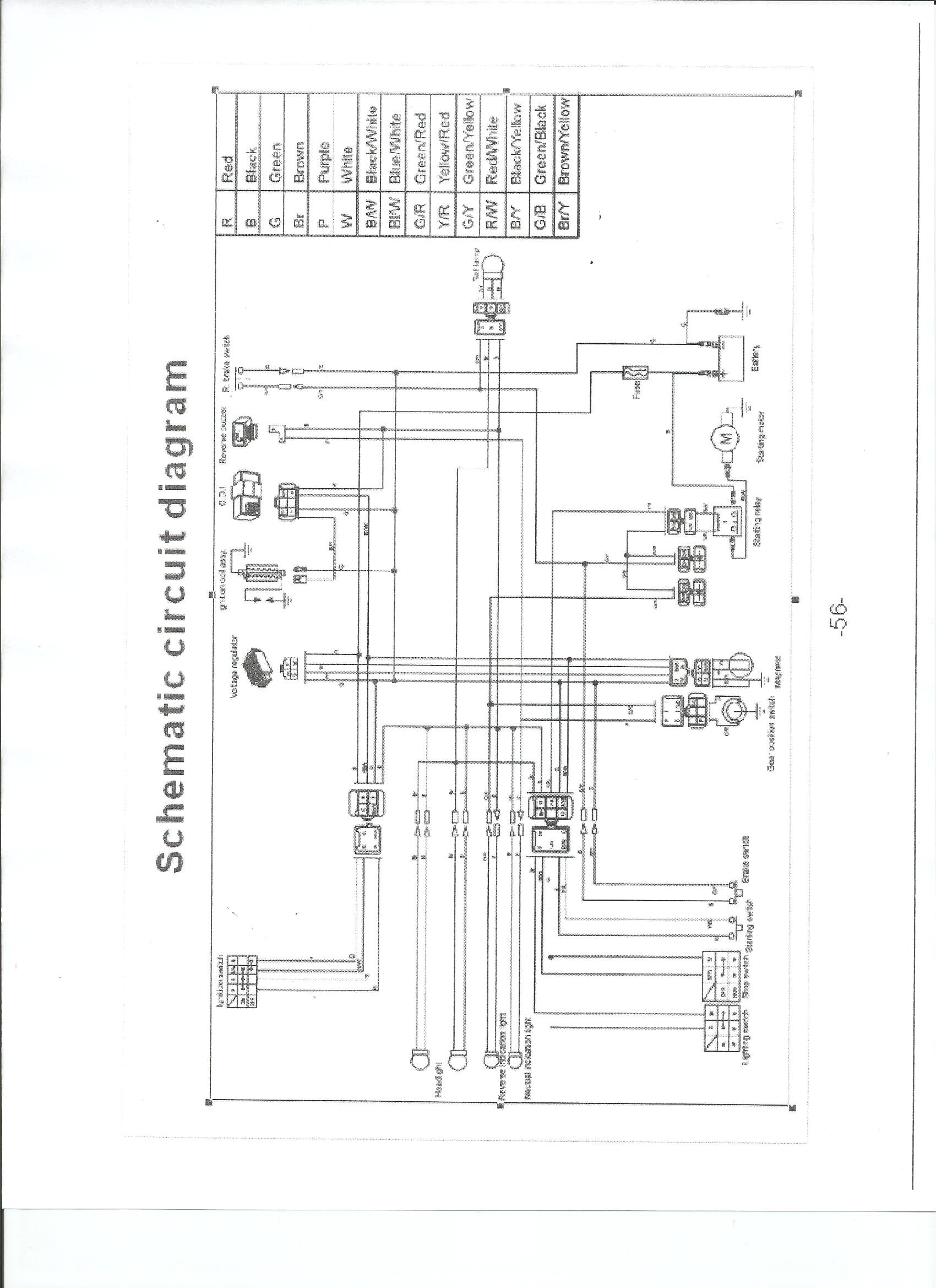 150cc Scooter Wiring Diagram In Addition 2013 Tao Tao 50cc Scooter Chinese  ATV Sensor Chinese Atv Stator Wiring