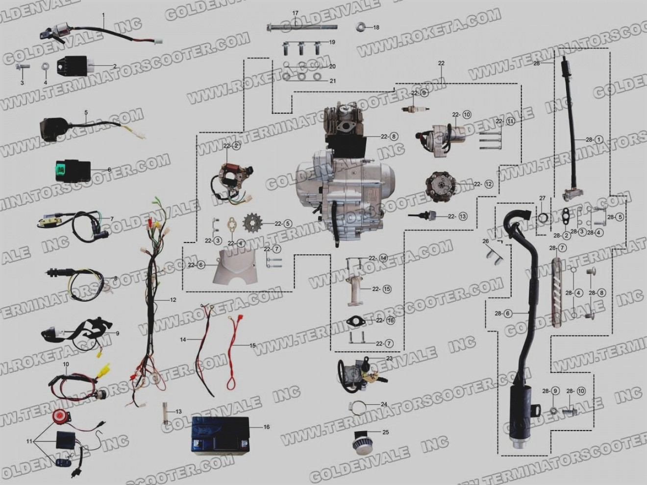 Taotao 110Cc Atv Wiring Diagram from mainetreasurechest.com