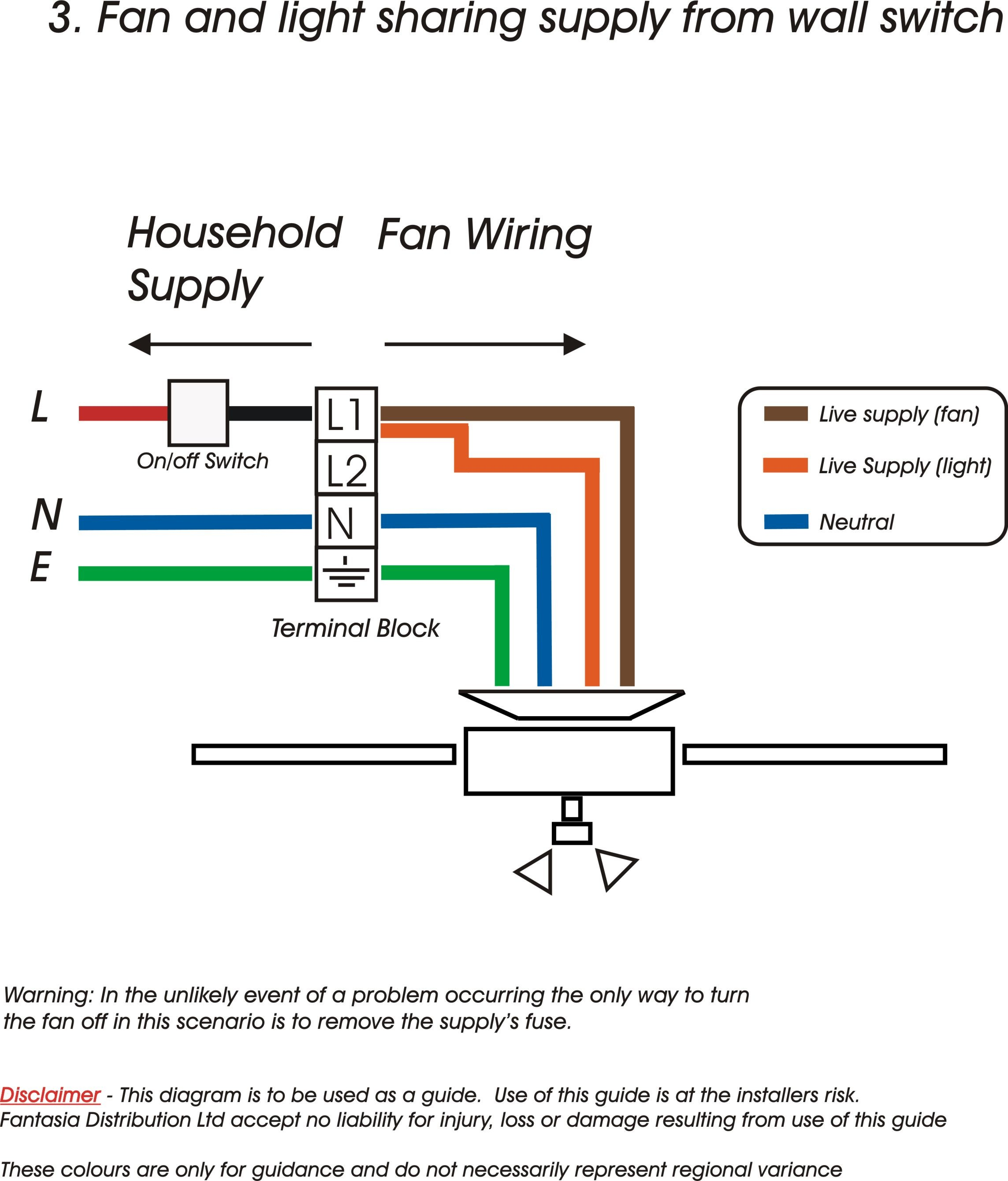 Fantasia Fans Ceiling Wiring Information Diagram Light