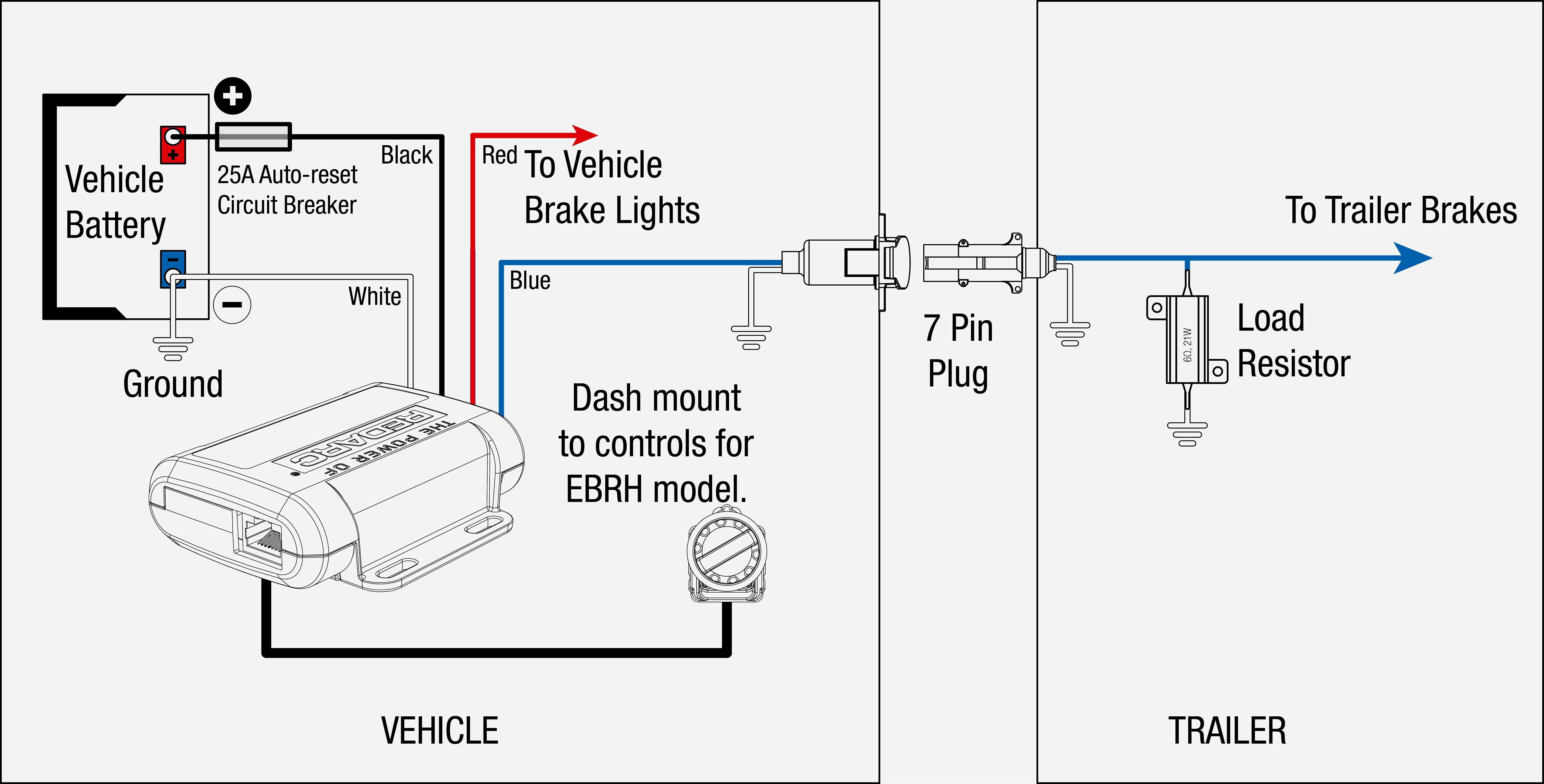 Tekonsha Voyager Brake Controller Wiring Diagram WIRING DIAGRAM Within