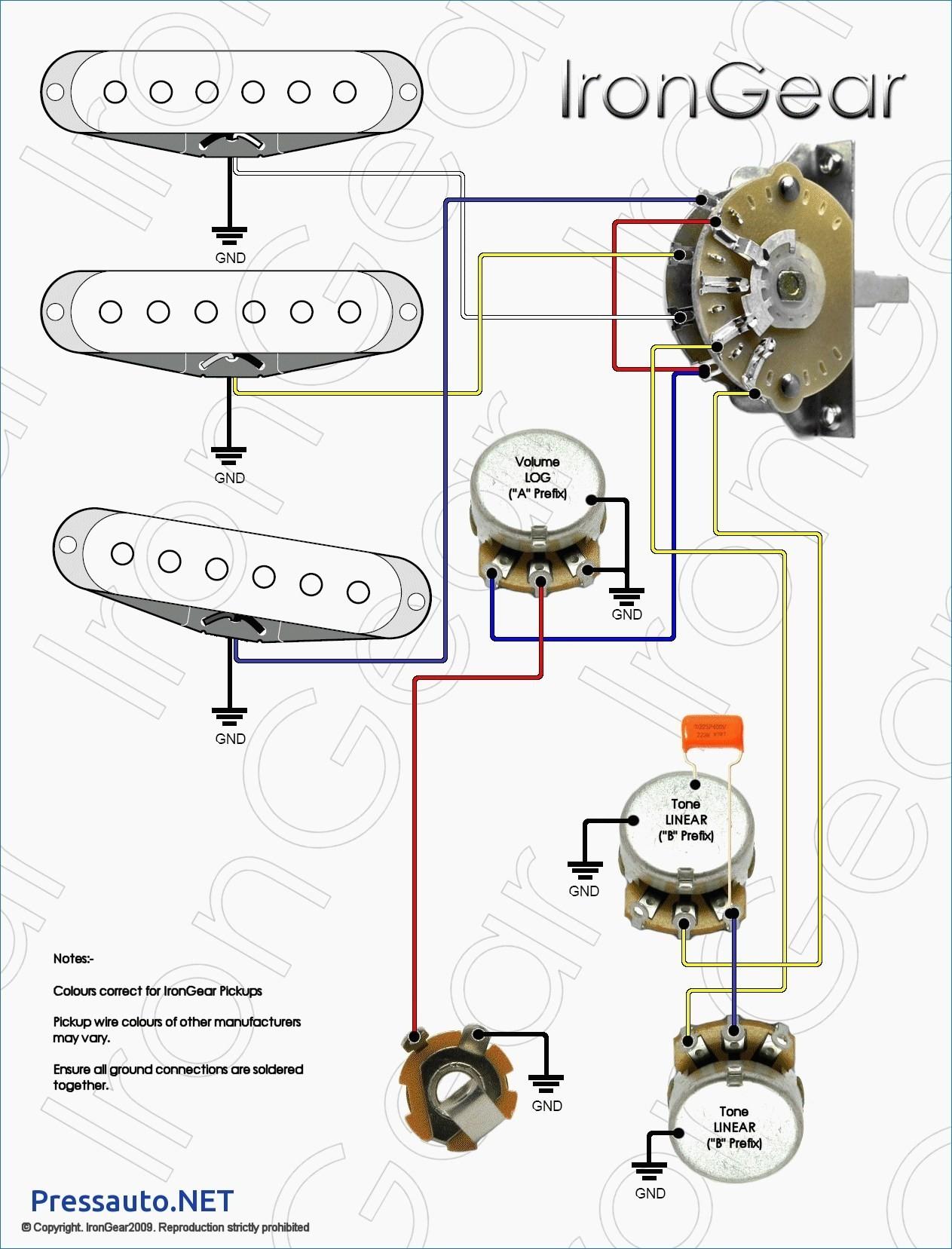 Three Humbucker Wiring Diagram Best Strat Wiring Diagram 3 Way Switch Archives Elisaymk Fresh